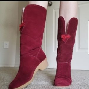 Vintage 70s winter boots size 8 made in italy